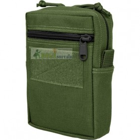 7x5x2 Vertical GP Pouch OD GREEN Low Profile Maxpedition