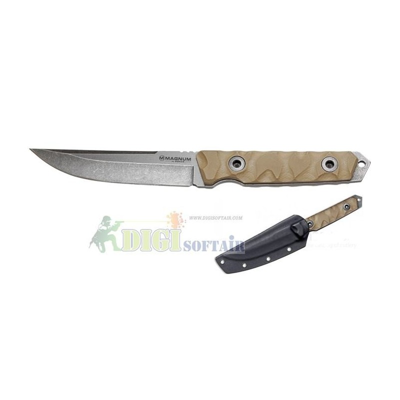 BOKER SIERRA DELTA DROP MAGNUM SERIES coltello lama fissa con fodero in Kydex incluso