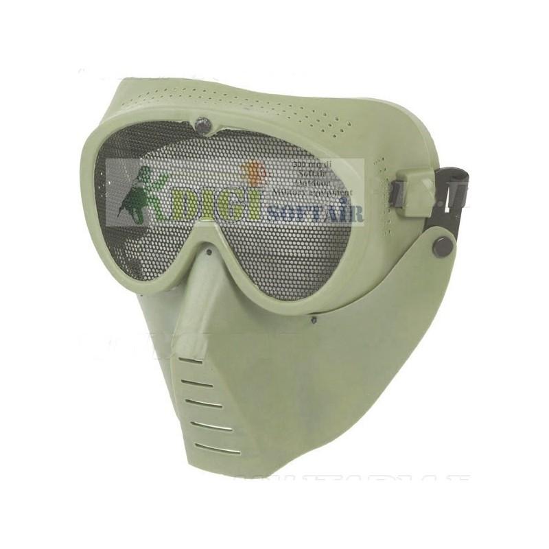 Sansei Mask Olive Drab KR014V