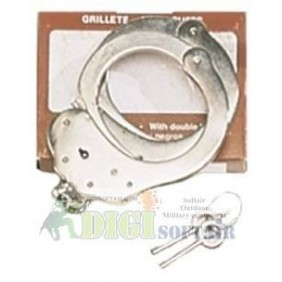 Vega holster stainless steel handcuffs type spanish