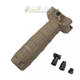 IVG TAN INTERCHANGEABLE VERTICAL GRIP IMI DEFENSE