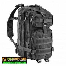 OPENLAND Black TACTICAL BACK PACK 600D NYLON