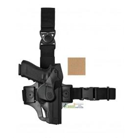 DCHT8 VEGA HOLSTER Duty CAMA Holster thigh kit coyote tan per