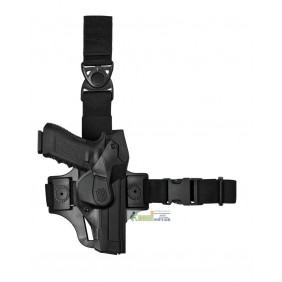 DCHT8 VEGA HOLSTER Duty CAMA Holster thigh kit nera per Beretta