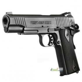 Colt 1911 Rail Gun CO2 black cybergun KWC