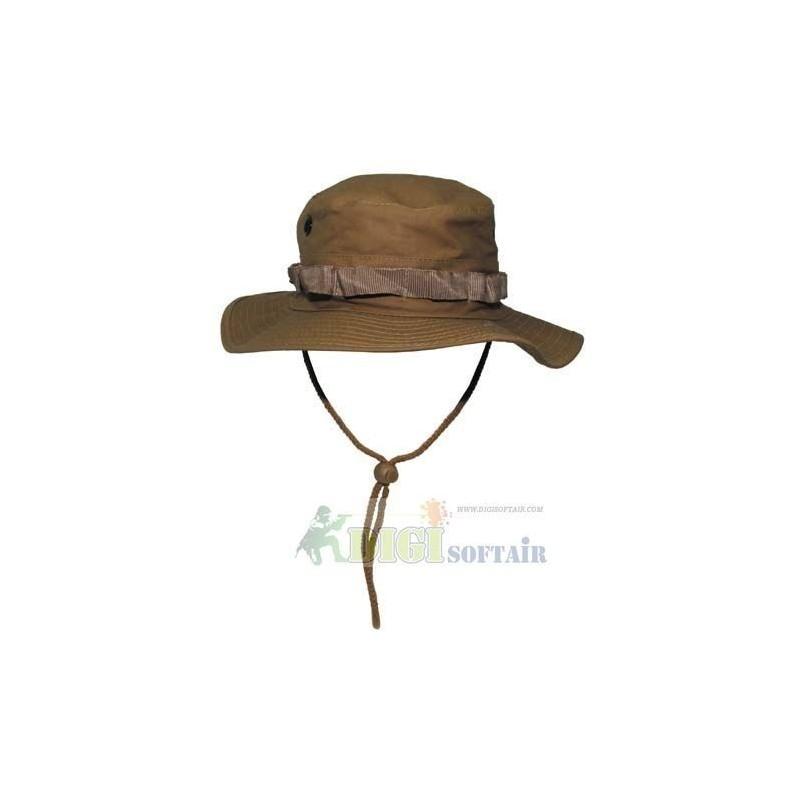 Cappello Coyote brown  modello BOONIE  MFH