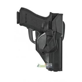 DCHO8 Duty CAMA open Vega holster fondina NERA per BERETTA 92