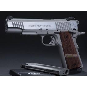 Colt 1911 Rail Gun CO2 Silver KWC