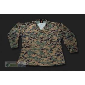 USMC camicia digital woodland (MARPAT) ORIGINALE OTTIME