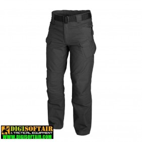 Helikon URBAN TACTICAL PANTS Black polycotton canvas