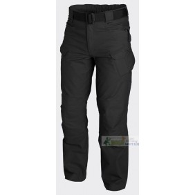 Helikon URBAN TACTICAL PANTS Black polycotton ripstop