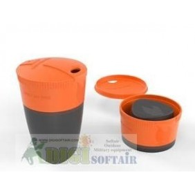 PACK UP CUP arancione light my fire
