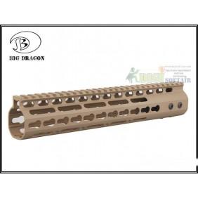 "KEYMOD System NOVESKE Style Aluminum 11""RAIL DESERT"