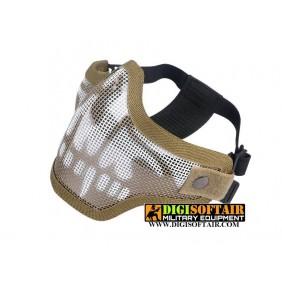 half face protection Strike skull tan kr001b