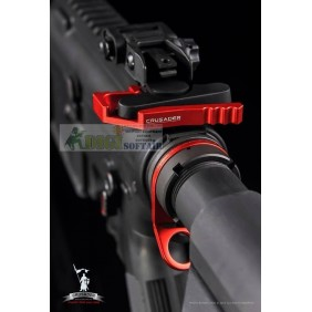 ROTATABLE TACTICAL SLING SWIVEL RED Crusader by VFC