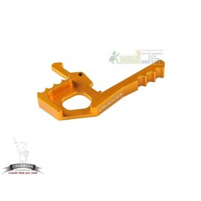 AMBIDEXTROUS TACTICAL CHARGING HANDLE LATCH GOLD crusader by VFC