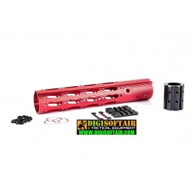 "Dytac 10"" Ergonomic Rail Red (M31.8 / P1.5)"