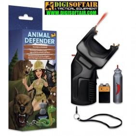ANIMAL DEFENDER 3 in 1 Accendigas + Dissuasore + Spray OC + Stimolatore a norma CE