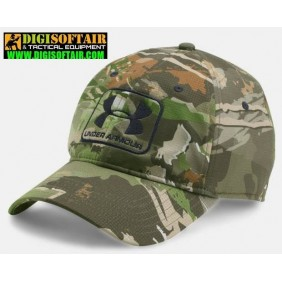 Under Armour Baseball cap camo rcf/blk