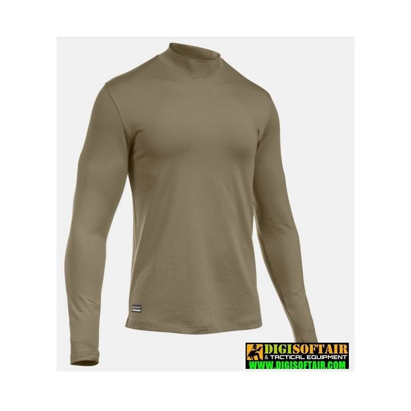Under armour ColdGear Infrared Tactical Fitted Crew Brown