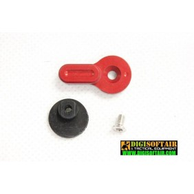 Retroarms (S) CNC custom fire selector for M4 - B Rosso