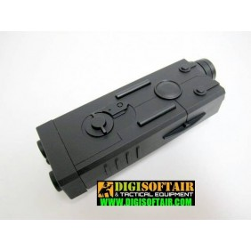 AN PEQ Black CASE FOR BATTERY 13,5cm eagle M29