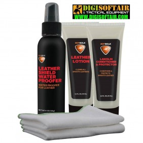 SOFSOLE Premium Leather Care Kit per calzature in pelle