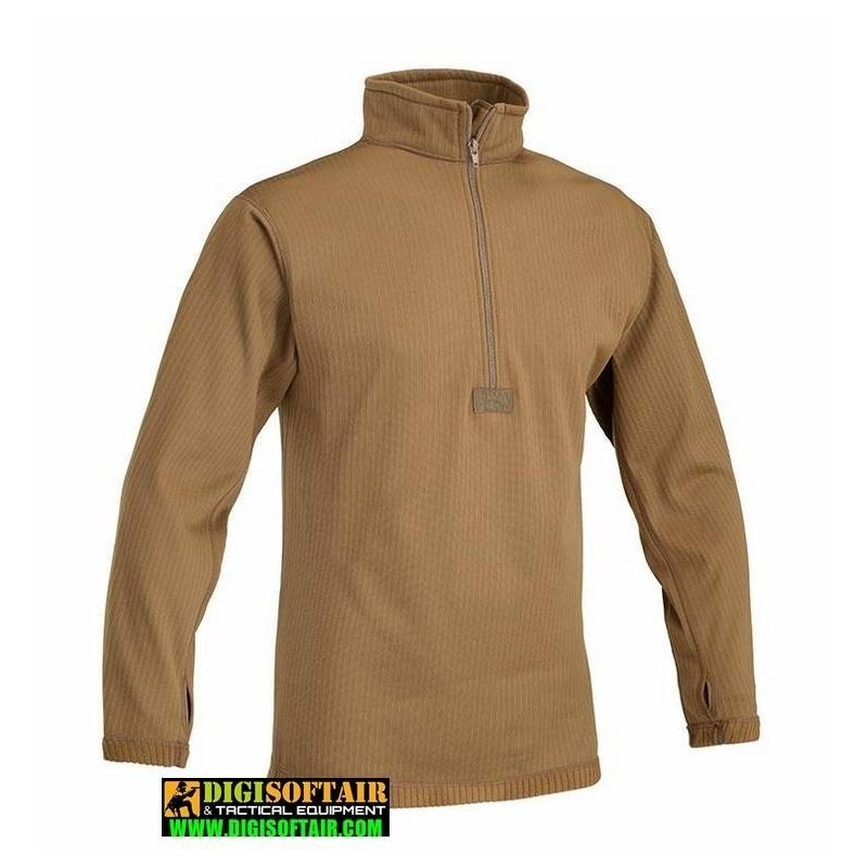 OPENLAND UNDERWEAR THERMAL SHIRT LEVEL 2 COYOTE
