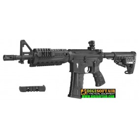 "CAA M4 CQB, black 10"" King Arms sport line"