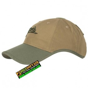 Logo Cap Coyote/Olive Green A PolyCotton Ripstop Helikon Tex