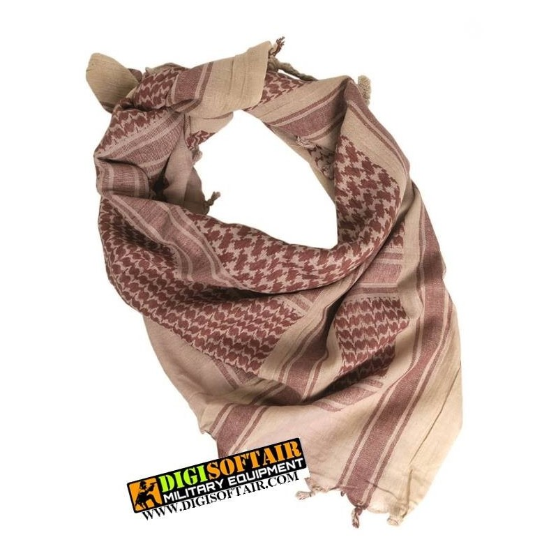 COYOTE/BROWN SHEMAGH SCARF