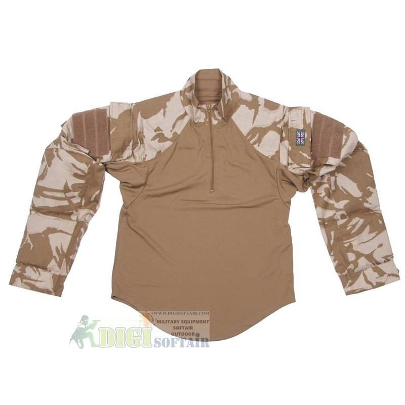 COMBAT SHIRT DPM DESERT ORIGINAL ENGLISH