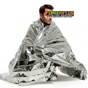Emergency blanket isothermal