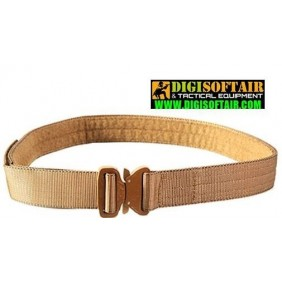 "HSGI Cobra 1.75"" Coyote brown Rigger Belt - with interior Velcro - No D-Ring"
