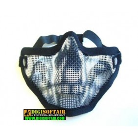 half face mask Strike SKULL KR001BN