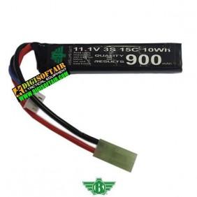 LIPO 11,1X900 15C STICK (specific for BOLT replicas)