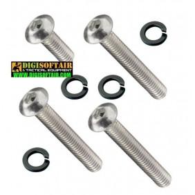 FPS Set of high-strength steel screws for G36 gearbox V3 (SV32)