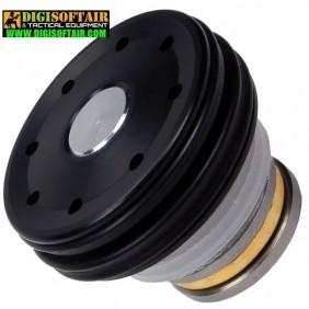 FPS Testa pistone cuscinettata in POM con doppio o-ring e regolazione angolo aggancio pistone (XPPA)