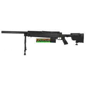 Swiss Arms SAS 06 Black with bipods stock