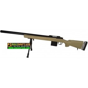 Bolt action Swiss Arms SAS 04 Desert Arid with Bipod included