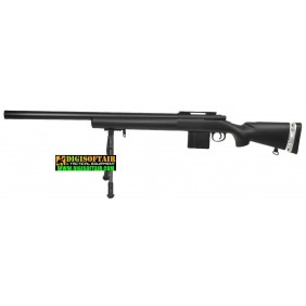 Swiss Arms SAS 04 black with Bipod fucile da sniper