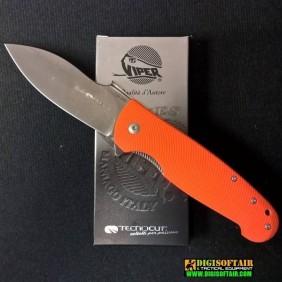 Viper Viper Italo G10 Arancio with LinerLock V5948GO
