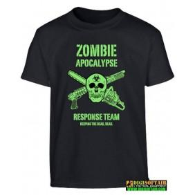 Kids Zombie Apocalypse T-shirt - Black