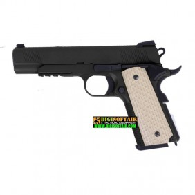 WE Tech Kimber 1911 GBB Pistol (Black)