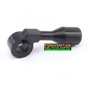 Steel bolt handle for VSR, BAR10 and MB03 - black