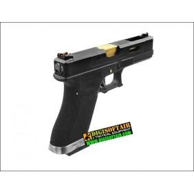 WE GAS BLOWBACK PISTOL glock G18 Custom G FORCE series black