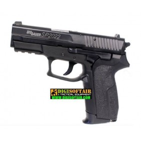 SIG SAUER SP2022 Co2 Metal Fixed Slide 6mm 15BB's