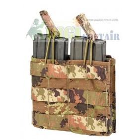 Defcon 5 porta caricatore vegetato italiano doppio M4AKDO/2  open top