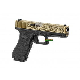 Glock G17 ETCHED IVORY...