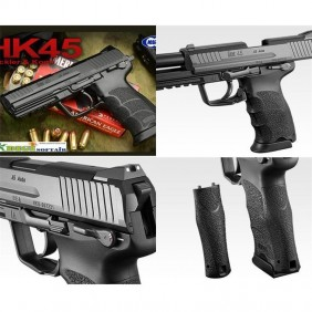 Tokyo Marui HK45 gas blowback pistola a gas scarrellante made in Japan